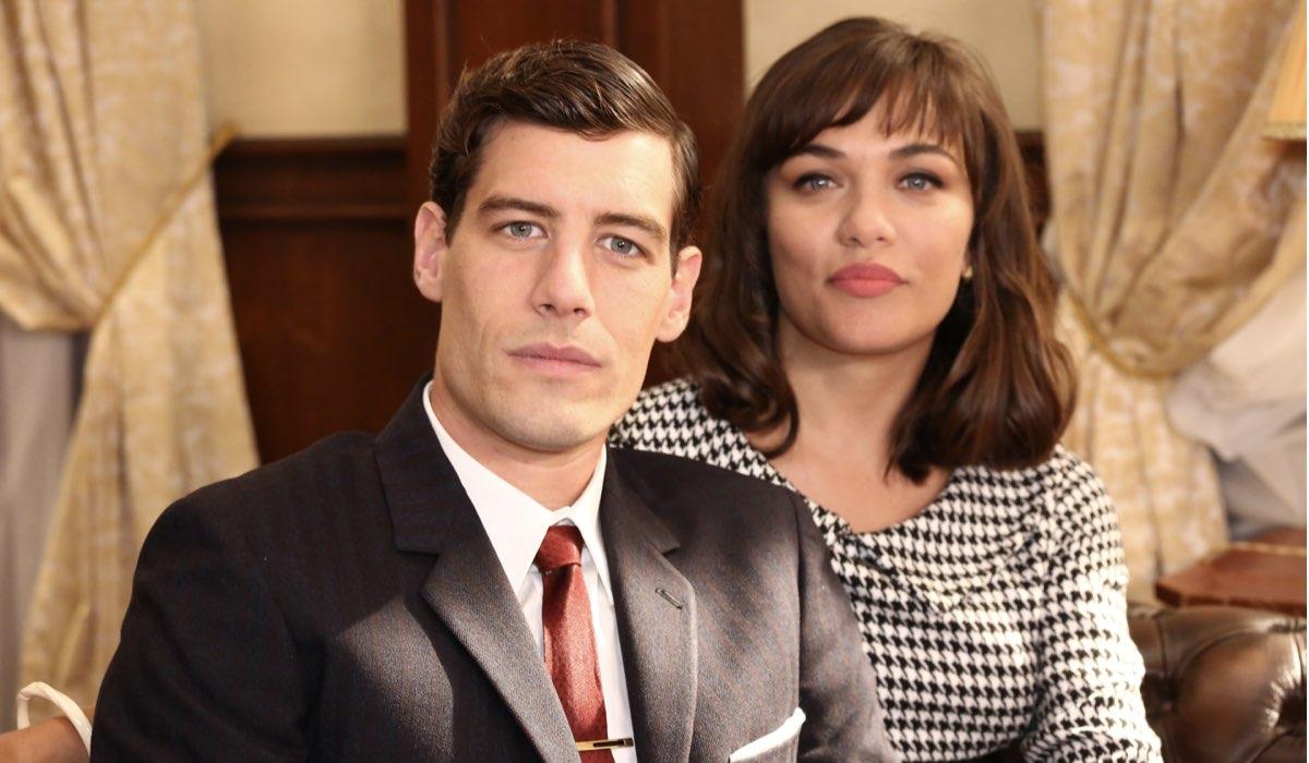 Il Paradiso delle Signore Riccardo e Marta Guarnieri interpretati rispettivamente da Enrico Oetiker e Gloria Radulescu, qui nella stagione Daily 2 Credits RAI
