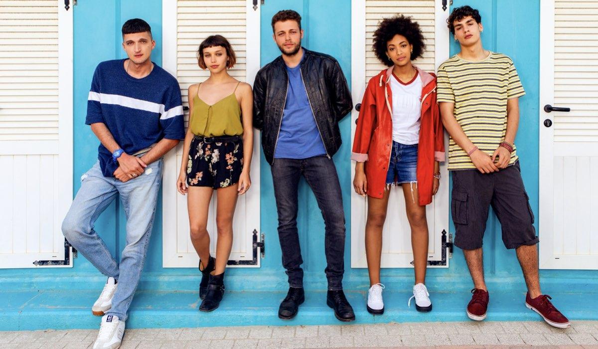 Il cast di Summertime. Credits Stefania Rosini-Netflix