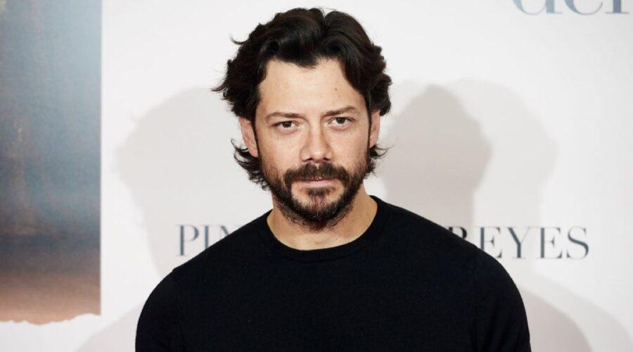 L'attore spagnolo Álvaro Morte. Credits Borja B. Hojas/Getty Images
