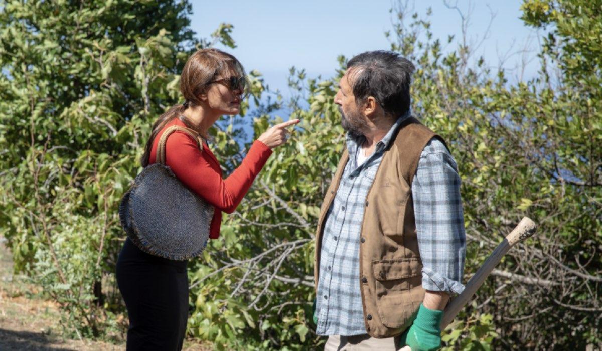 L'ora della verità CATERINA MURINO interpreta PALMA IDRISSI e SERGE RIABOUKINE interpreta CASSANU IDRISSI nell'episodio 4 Credits Mediaset