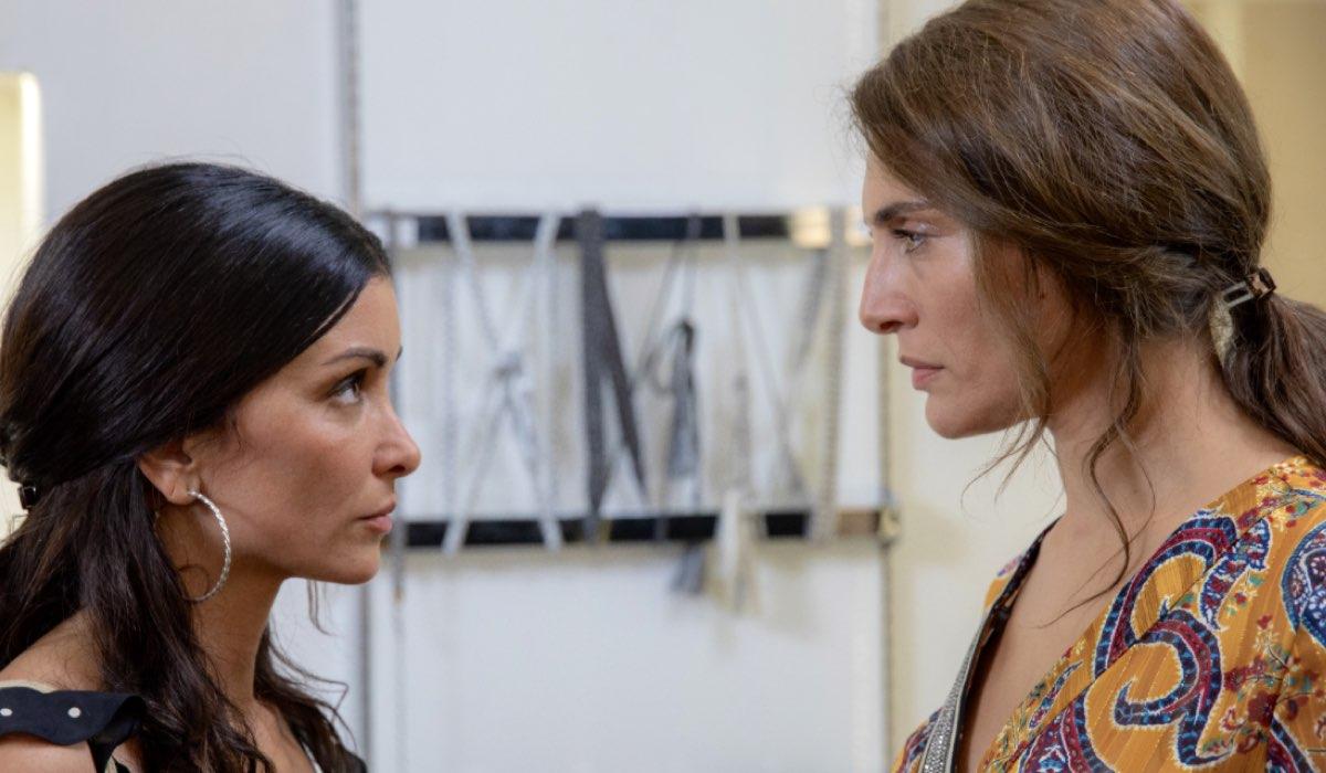 L'ora della verità JENIFER BARTOLI interpreta SALOMÉ ROMANI e CATERINA MURINO interpreta PALMA IDRISSI Credits Mediaset