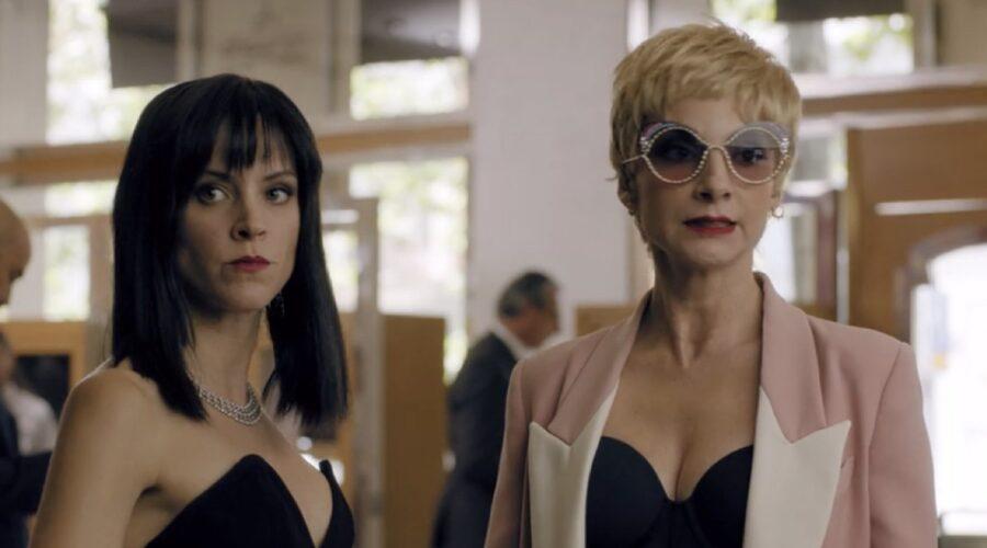 Maggie Civantos e Najwa Nimri, sono Macarena e Zulema in Vis A Vis episodio 4x08 credits Netflix