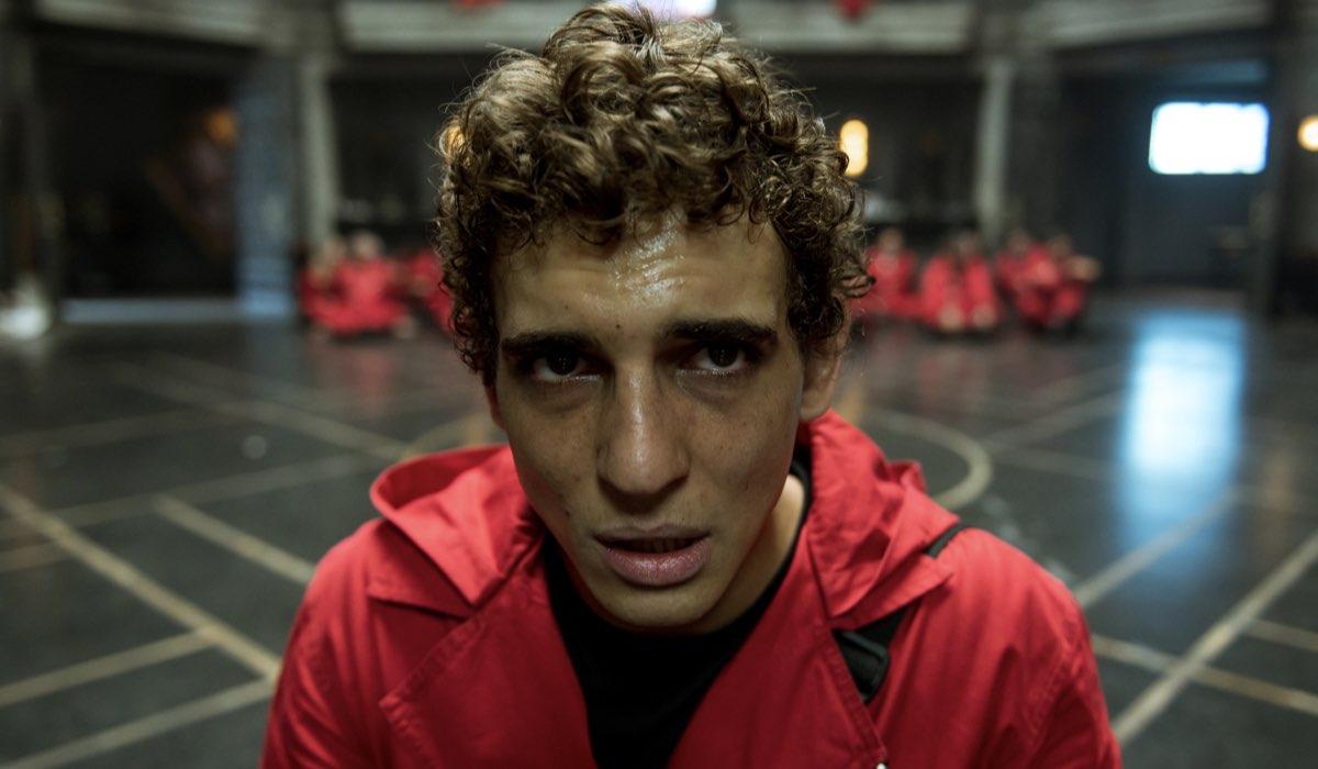 Miguel Herrán nei panni di Rio. Credits Netflix