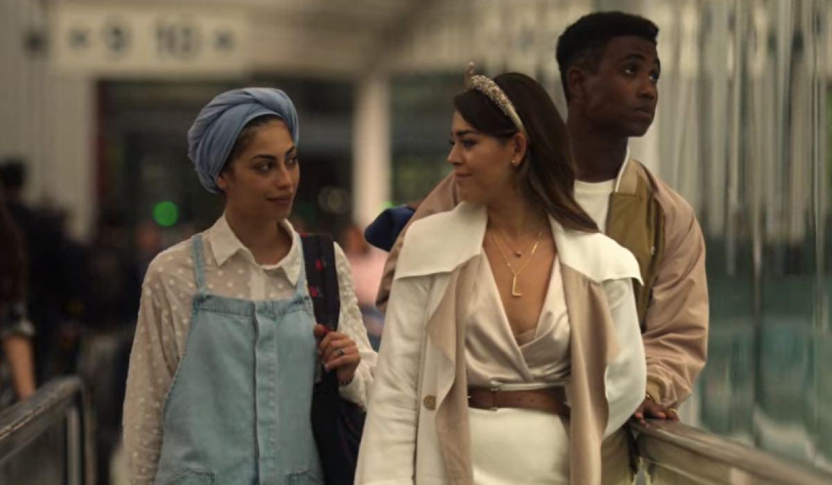 Mina El Hammani e Danna Paola sono Nadia e Lu nel finale di Elite episodio 3x08 credits Netflix