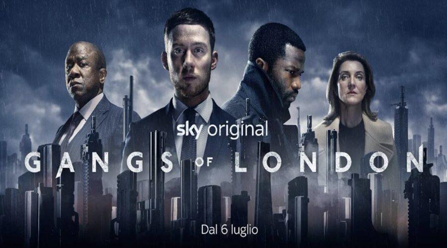 Poster di Gangs of London su Sky Atlantic dal 6 luglio Credits Sky Italia