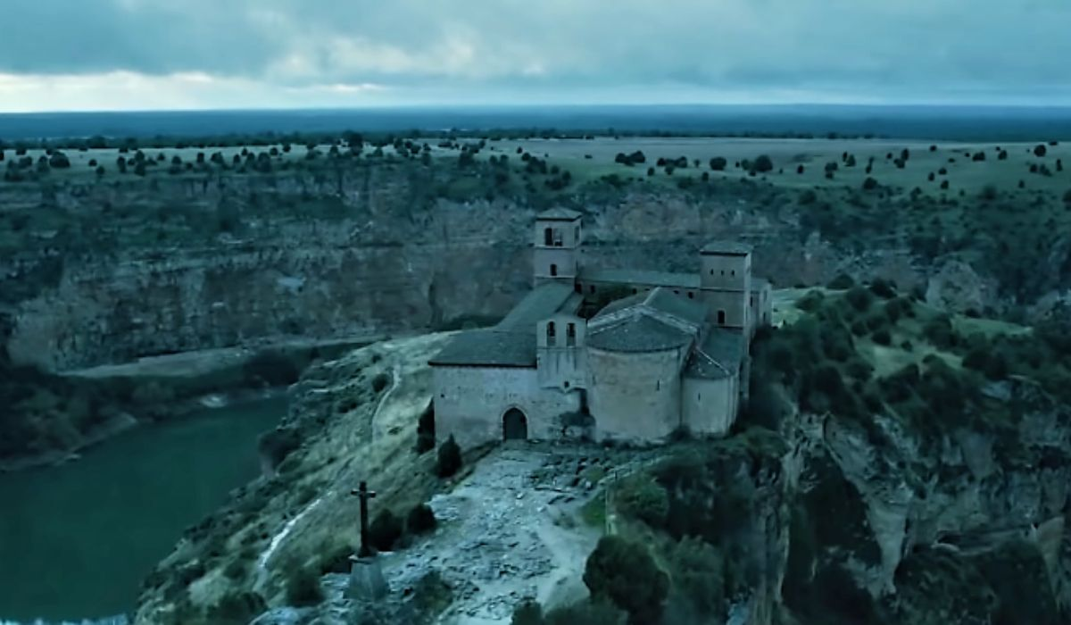 San Frutos in una scena dal trailer de La casa di carta 3 stagione, Credits Netflix