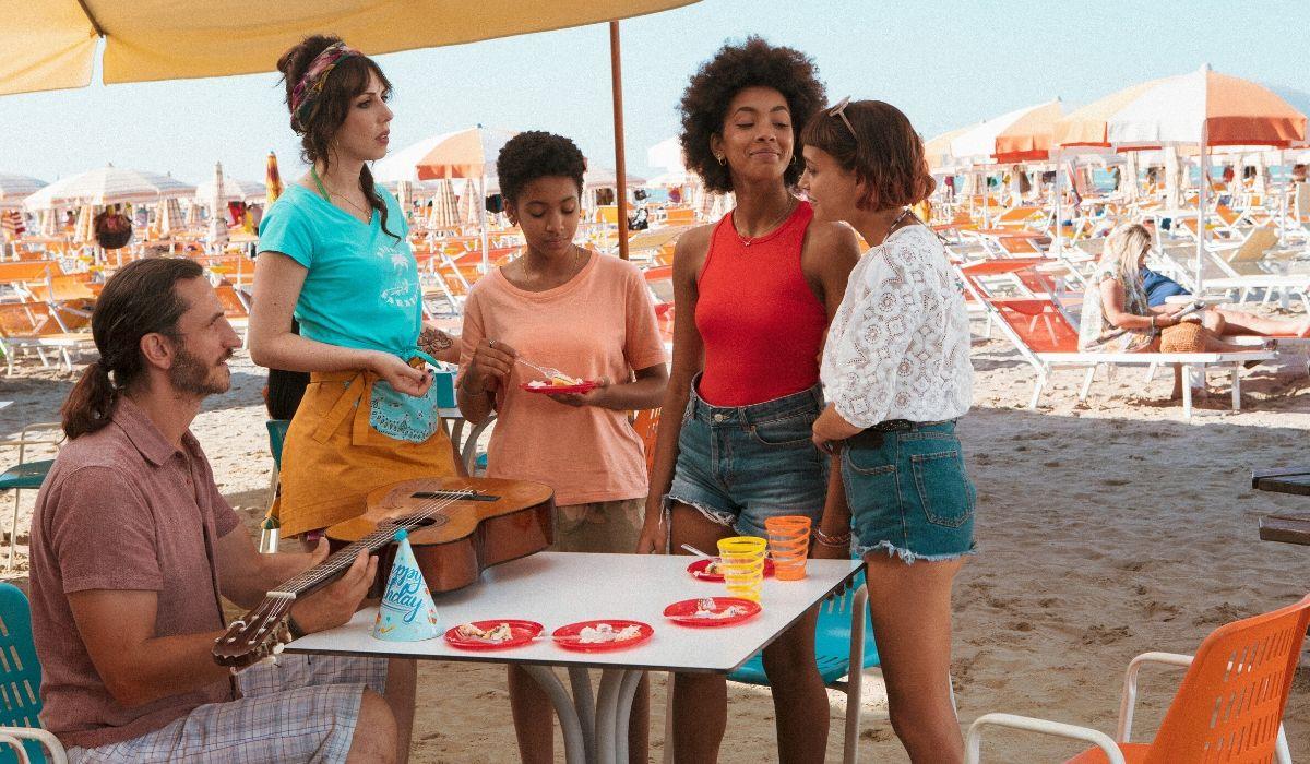 Riccardo Isa Blue Summer e Sofia. Credits Netflix