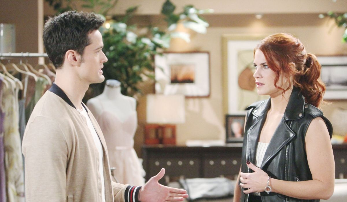 Thomas e Sally in Beautiful soap opera Credits BBL DISTRIBUTION