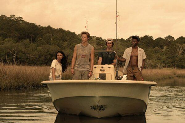 Una scena di Outer Banks. Credits Netflix