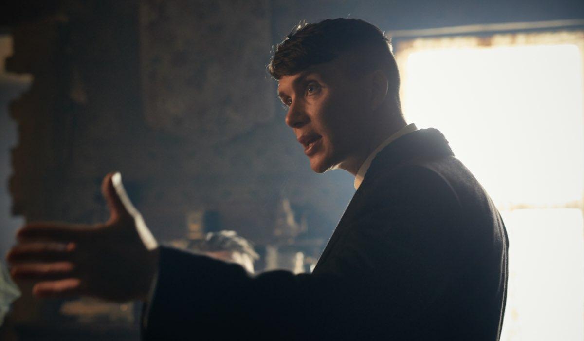 Tommy Shelby interpretato da Cillian Murphy. Credits: Robert Viglasky/Netflix.
