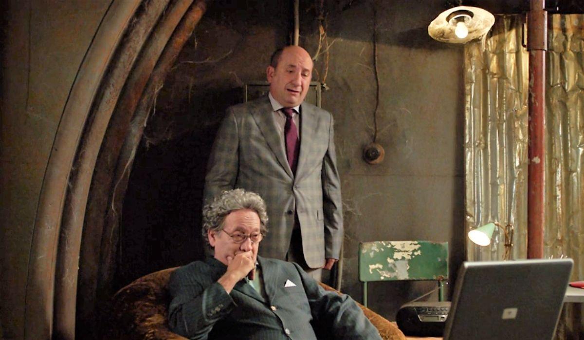 Antonio Albanese e Tony Sperandeo ne I topi 2 stagione, Credits RAI