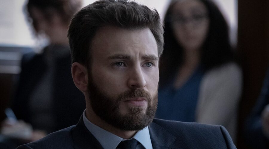 Chris Evans in Defending Jacob Credits Apple TV Plus