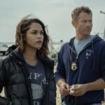 Da sinistra Monica Raymund (Jackie) e James Badge Dale (Ray) in Hightown dal 17 maggio su STARZPLAY
