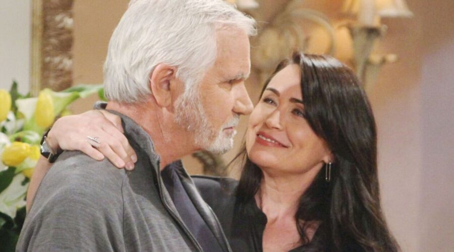 Eric e Quinn in Beautiful soap opera Credits BBL DISTRIBUTION