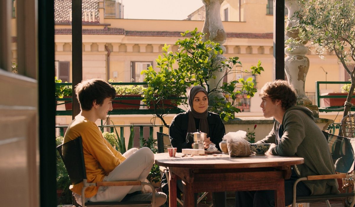 Filippo, Sana e Martino. Credits Timvision