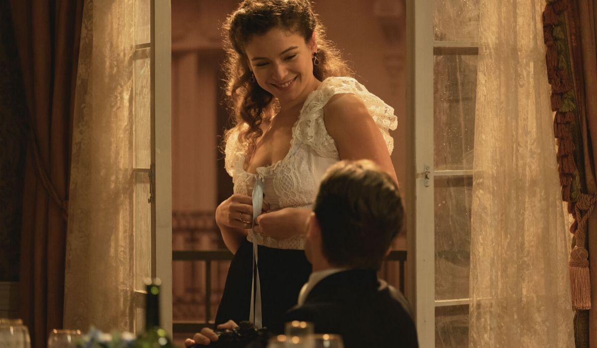 Genoveva e Samuel in Una Vita soap opera spangola Credits BOOMERANG TV