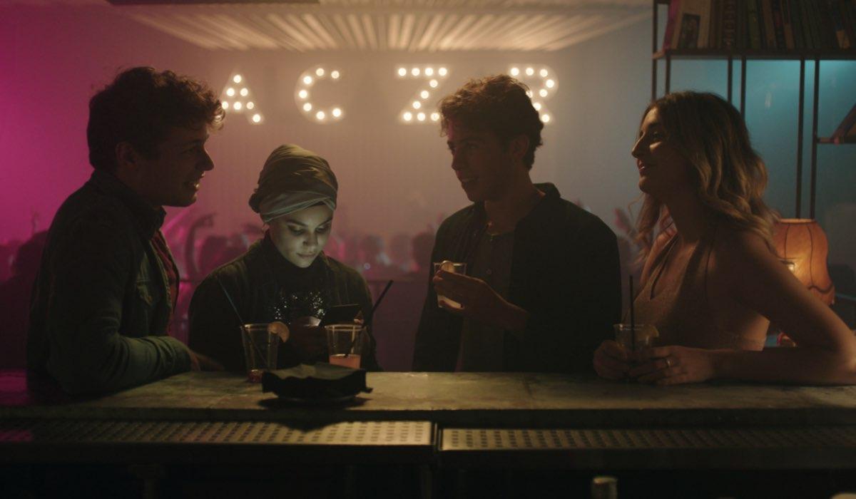 Giovanni, Sana, Elia e Silvia in SKAM Italia 4. Credits Timvision