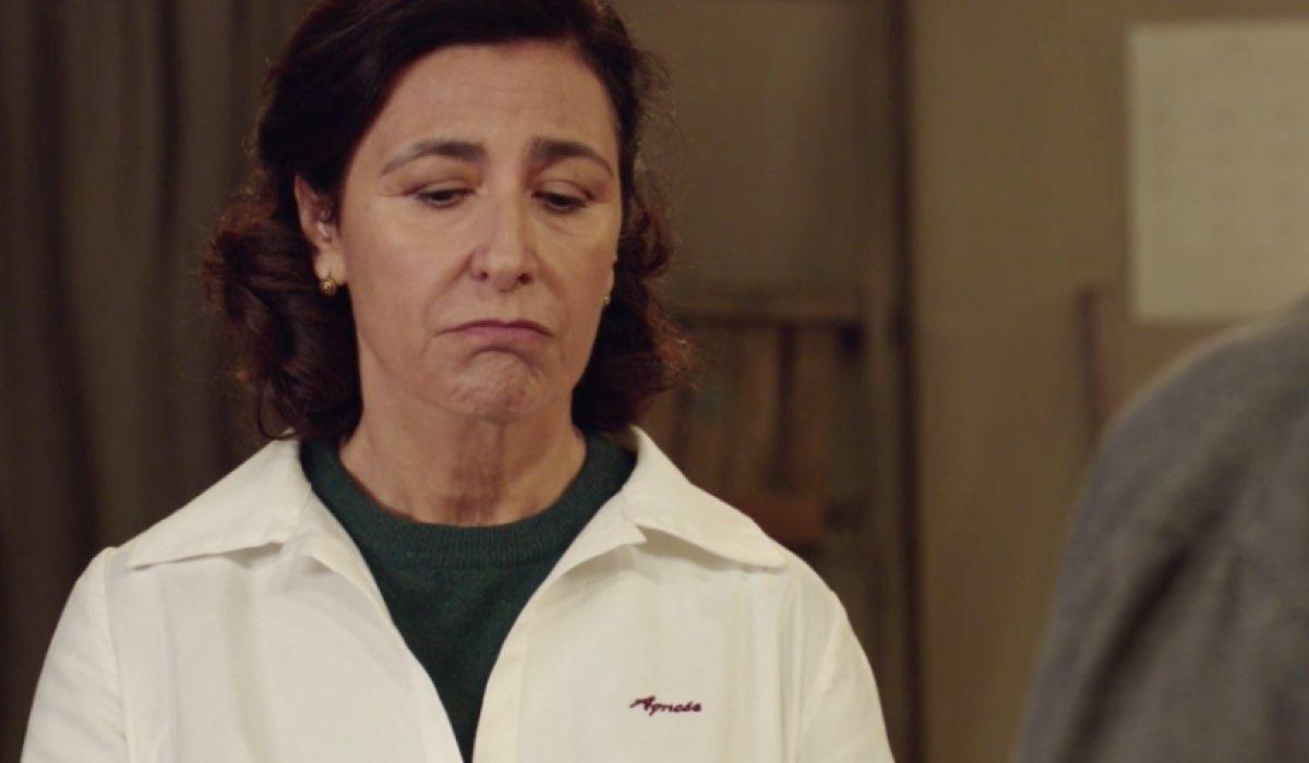 Il Paradiso delle Signore 4 Agnese interpretata da Antonella Attili, qui nella puntata 15 Credits RAI