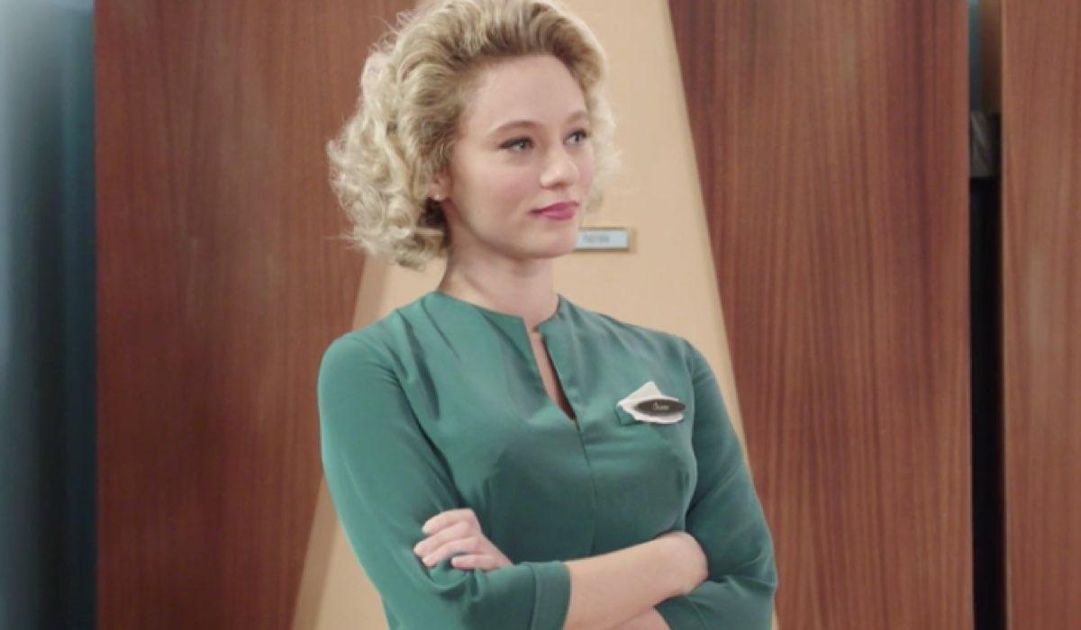 Il Paradiso delle Signore 4 Irene Cipriani interpretata da Francesca Del Fa, qui nella puntata 30 Credits RAI