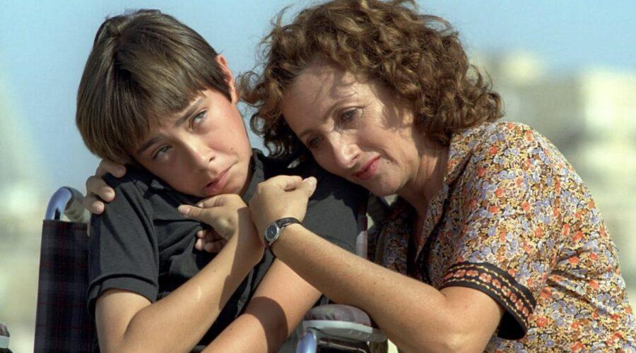 Il figlio della luna con Lunetta Savino nei panni di Lucia Frisone Credits RAI