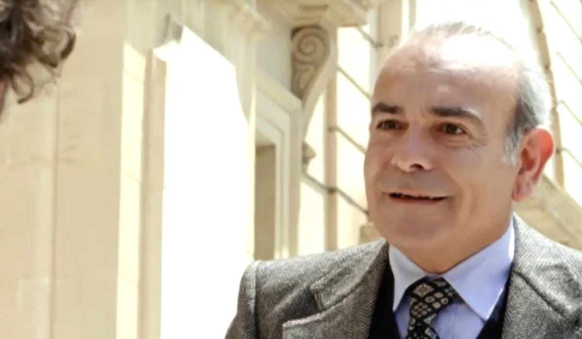 Il giovane Montalbano Carmine Fazio interpretato da Andrea Tidona Credits RAI