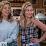 Jodie Sweetin, Andrea Barber, Candace Cameron Bure in Le amiche di mamma Credits Michael Yarish e Netflix
