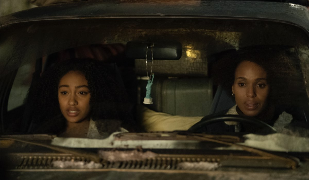 Lexi Underwood e Kerry Washington in Little Fires Everywhere. Credits Amazon Prime Video