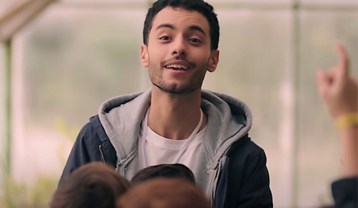 Mehdi Meskar è Malikin SKAM Italia 4, immagine dal trailer ufficiale Credits Timvision