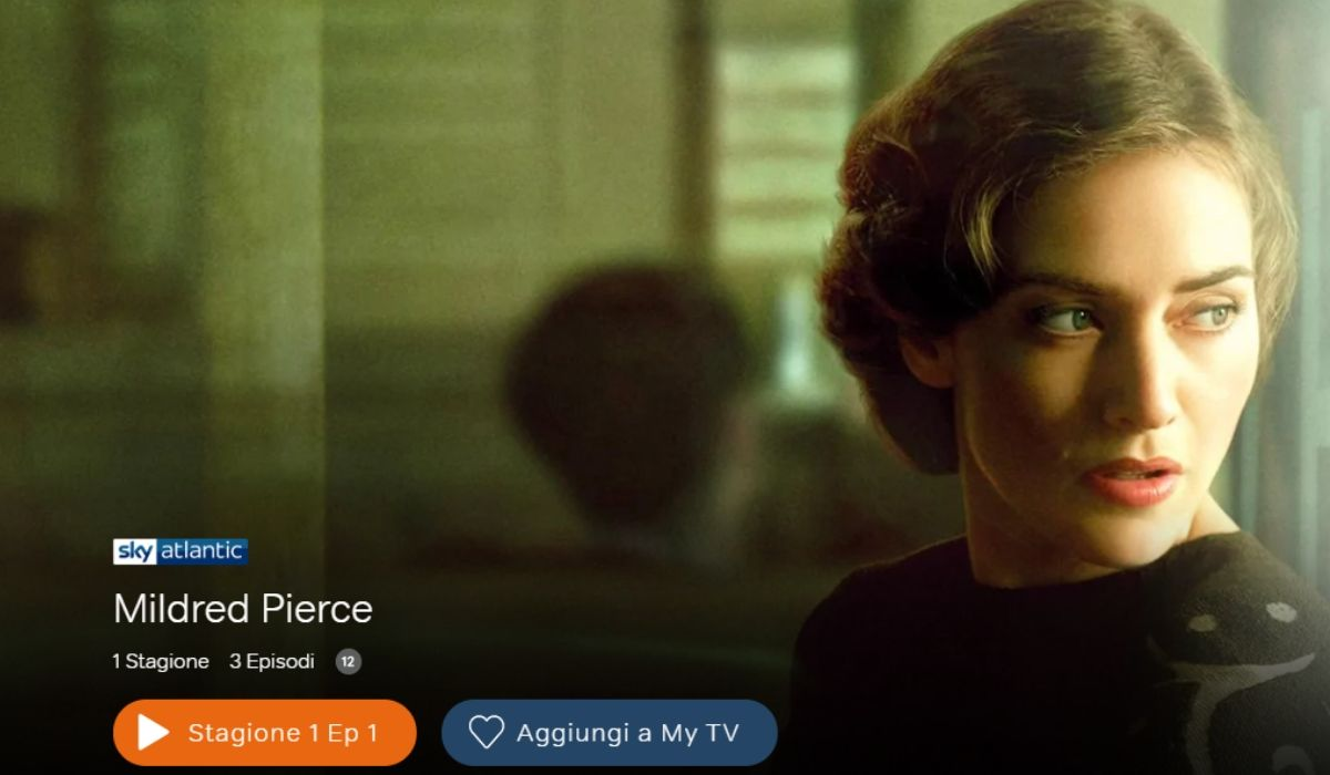 MILDRED PIERCE in streaming su NOW TV