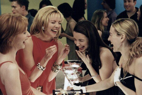 Miranda, Samantha, Charlotte e Carrie interpretate da Cynthia Nixon, Kim Cattrall, Kristin Davis e Sarah Jessica Parker Credits HBO e SKY
