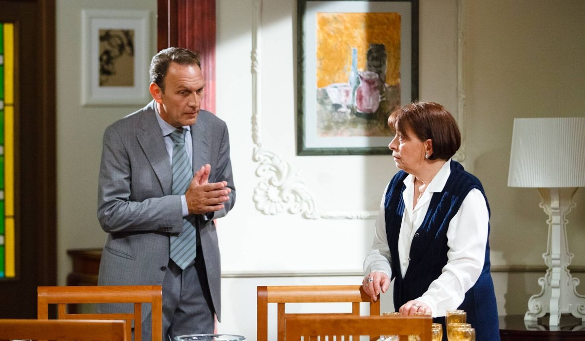 Roberto Ferri e Carmen Scivittaro in Un posto al sole Credits RAI