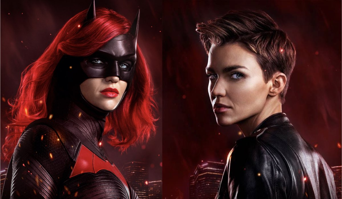 Ruby Rose nei panni di Batwoman. Credits Mediaset, Warner Bros. Entertainment