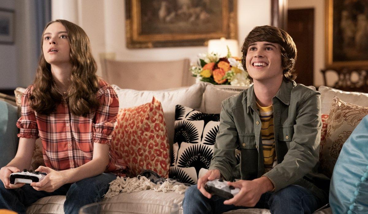 Simone Lockhart e Logan Allen sono Nellie e Kyle. Credits Eliza Morse per Netflix