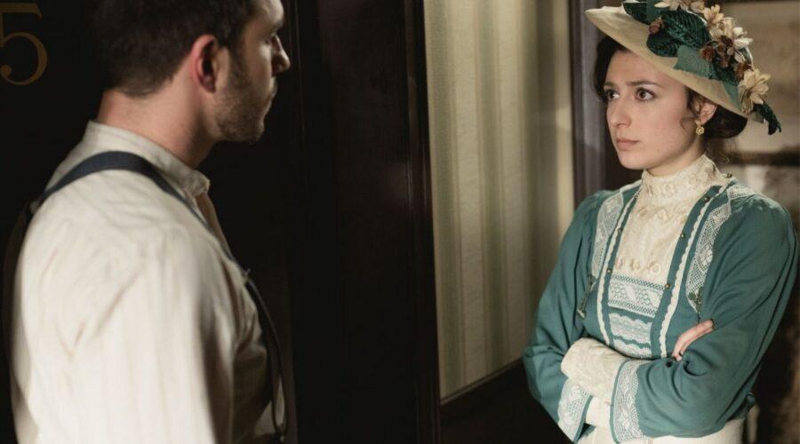 Telmo e Lucia in Una Vita, soap opera spagnola Credits Boomerang TV