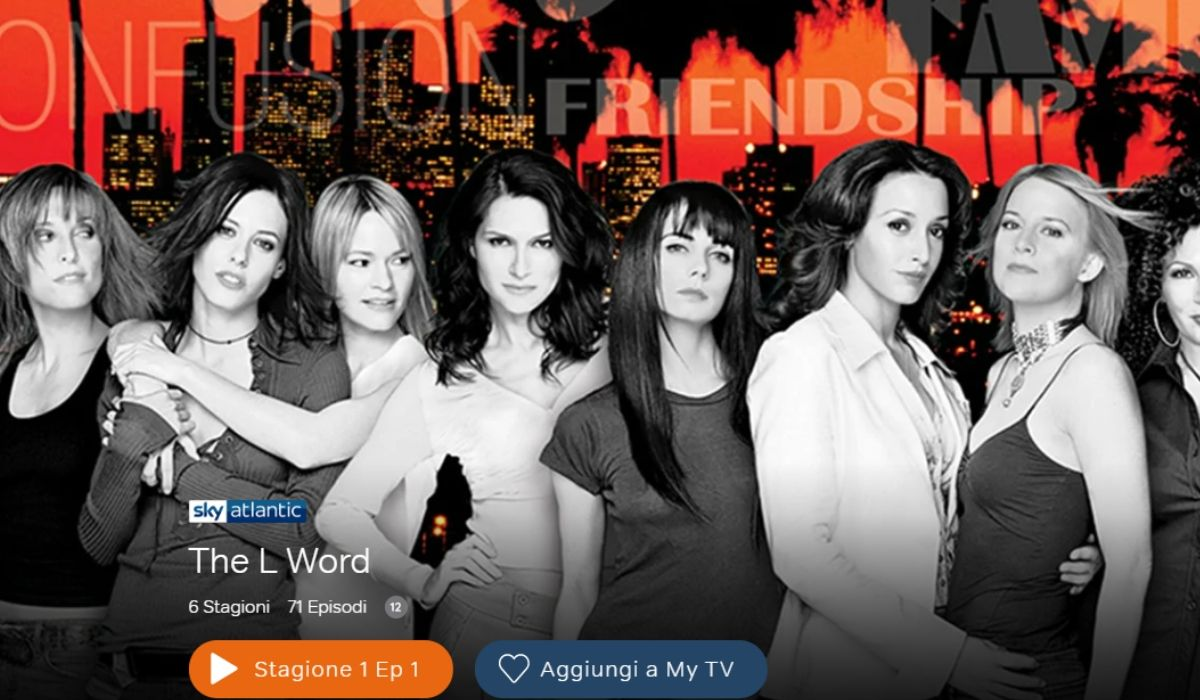 The L Word serie tv in streaming su NOW TV Credits Sky
