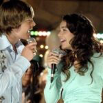 Zac Efron e Vanessa Hudgens sono Troy e Gabriella in High School Musical credits Disney Channel e Fred Hayes