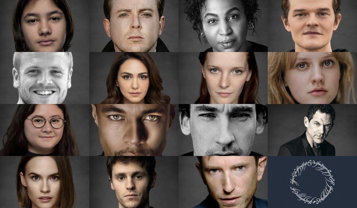 Cast de Il Signore degli Anelli serie tv. Credits: Amazon Prime Video.