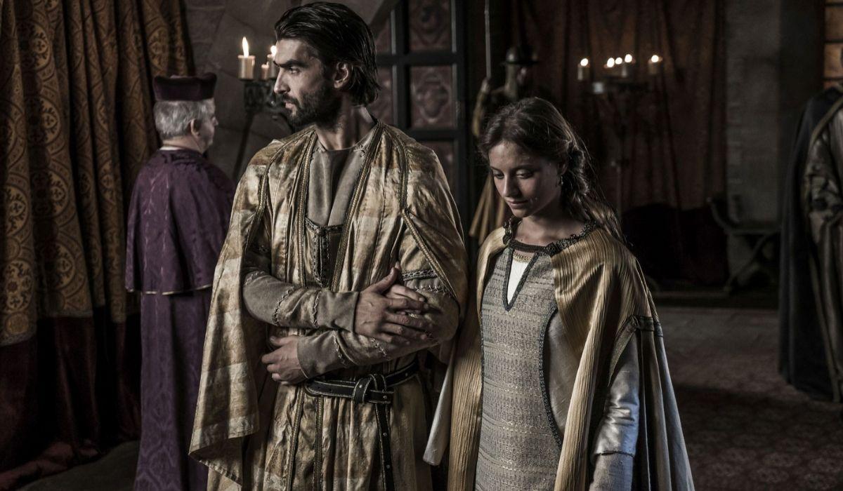 Arnu e Maria ne La Cattedrale del mare Credits Endemol e Mediaset
