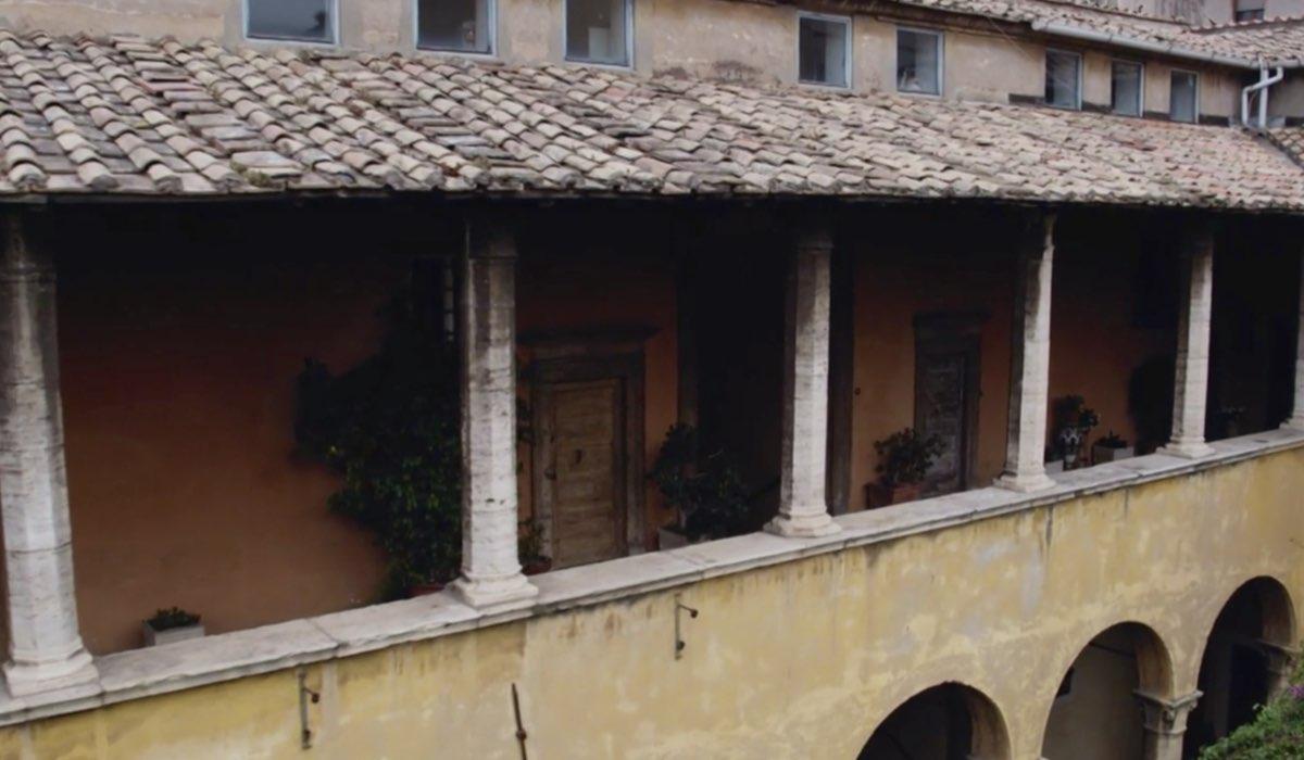 Che Dio Ci Aiuti 5 girato ad Assisi, qui una scena dell'ultima puntata Credits RAI