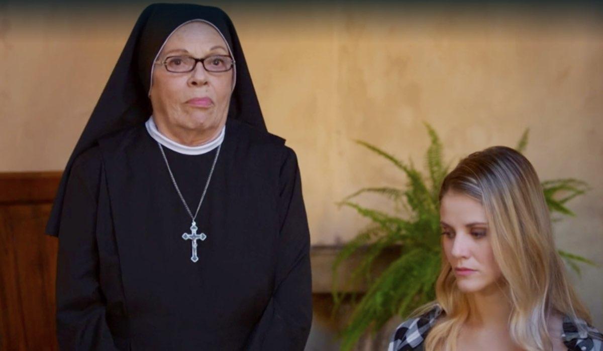 Che Dio ci aiuti 5 Suor Costanza e Valentina interpretate da Valeria Fabrizi e Arianna Montefiori Credits RAI