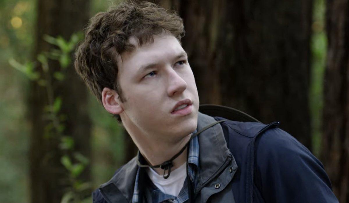 Devin Druid nei panni di Tyler Down in Tredici 4x04 Credits David Moir e Netflix © 2020