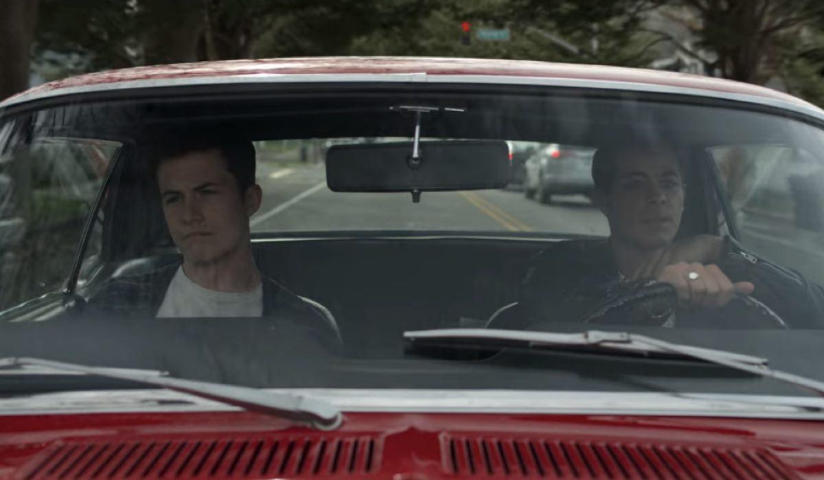 Dylan Minnette e Christian Navarro sono Clay e Tony in Tredici 4x10 Credits David Moir e Netflix © 2020