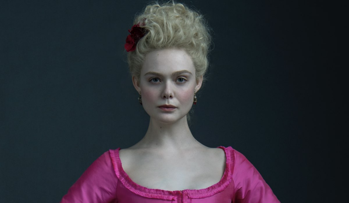 Elle Fanning in The Great Credits Starzplay