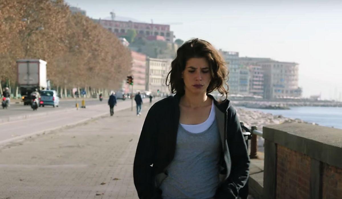 Giulia Michelini in Rosy Abate, immagine dal trailer ufficiale Credits Mediaset