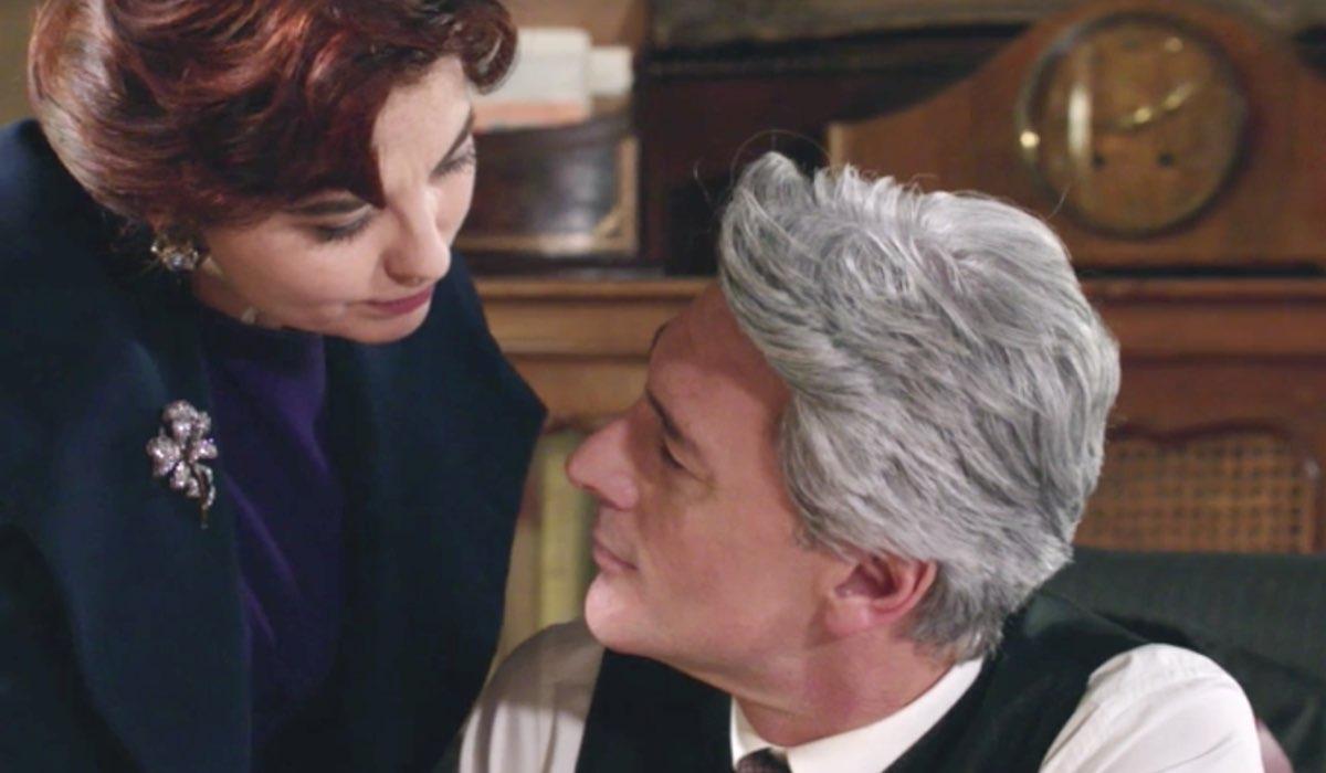 Il Paradiso delle Signore 4 Adelaide interpretata da Vanessa Gravina e Umberto interpretato da Roberto Farnesi, qui nella puntata 125 Credits RAI
