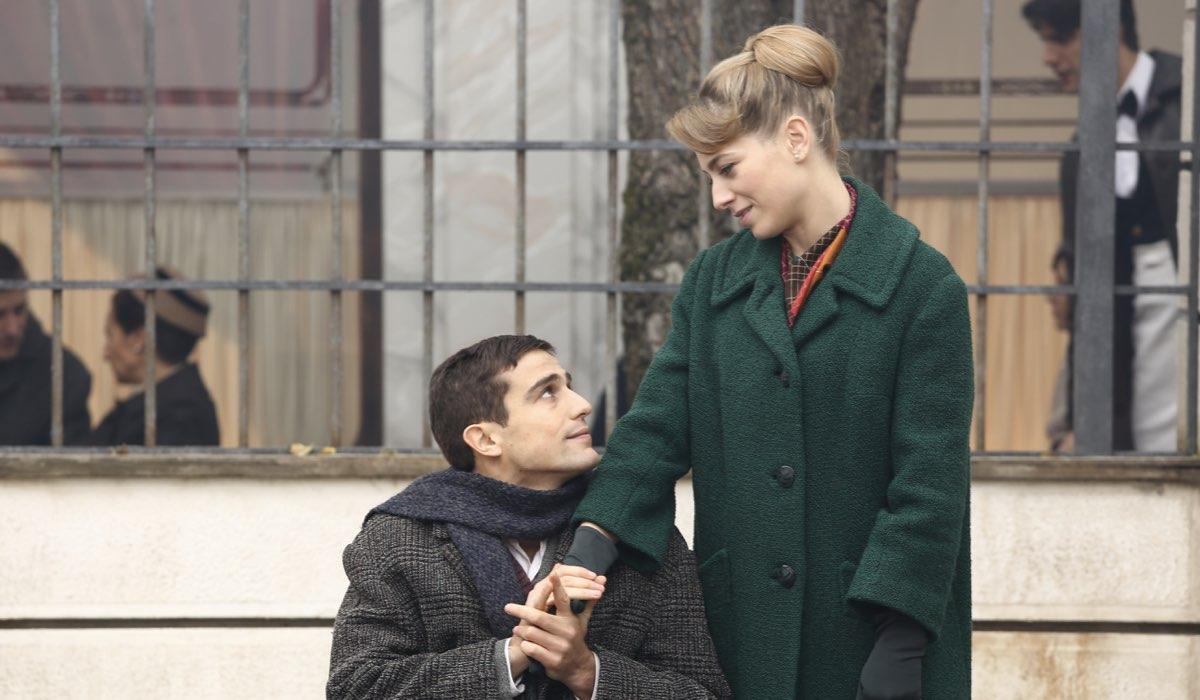 Il Paradiso delle Signore 4 Federico e Roberta interpretati da Alessandro Fella e Federica De Benedittis Credits P. Bruni e RAI