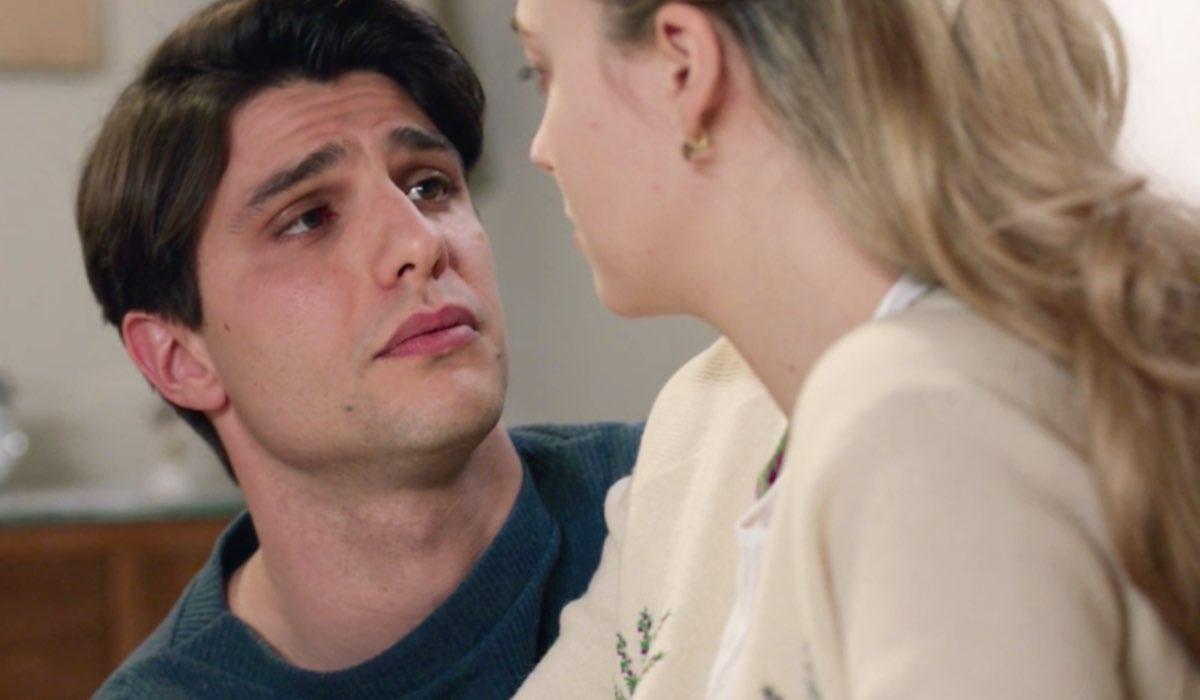 Il Paradiso delle Signore 4 Marcello e Angela Barbieri interpretati rispettivamente da Pietro Masotti e Alessia Debandi, qui nella puntata 134 Credits RAI