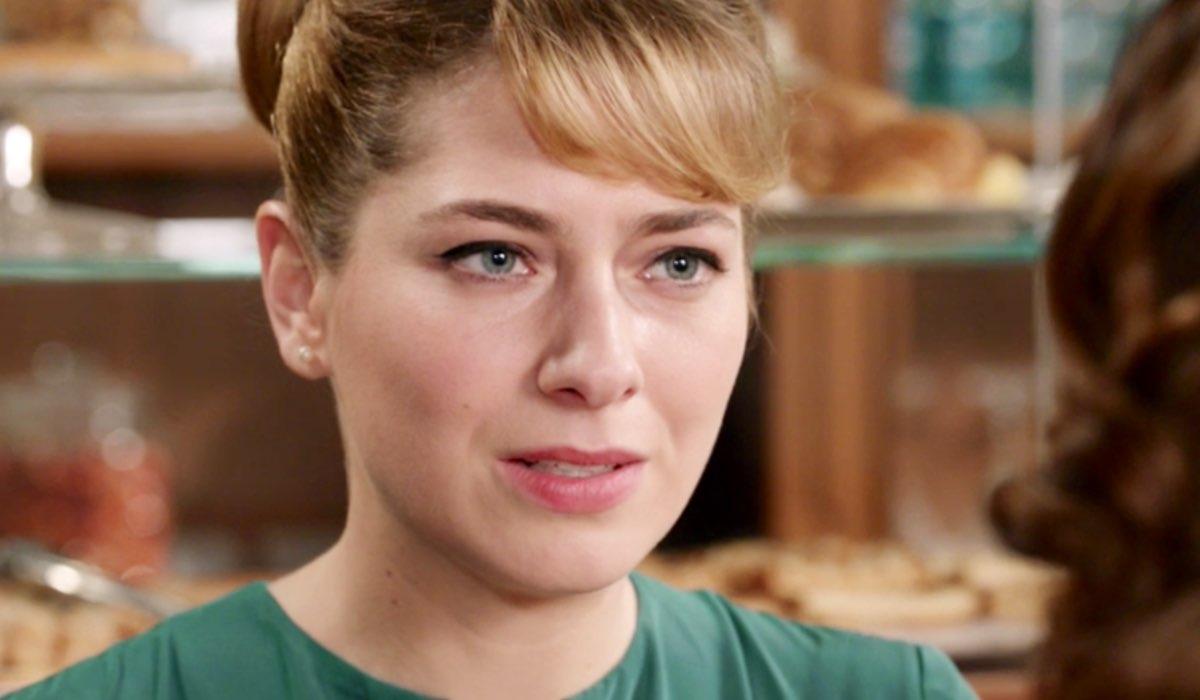 Il Paradiso delle Signore 4 Roberta Pellegrino interpretata da Federica De Benedittis, qui nella puntata 125 Credits RAI