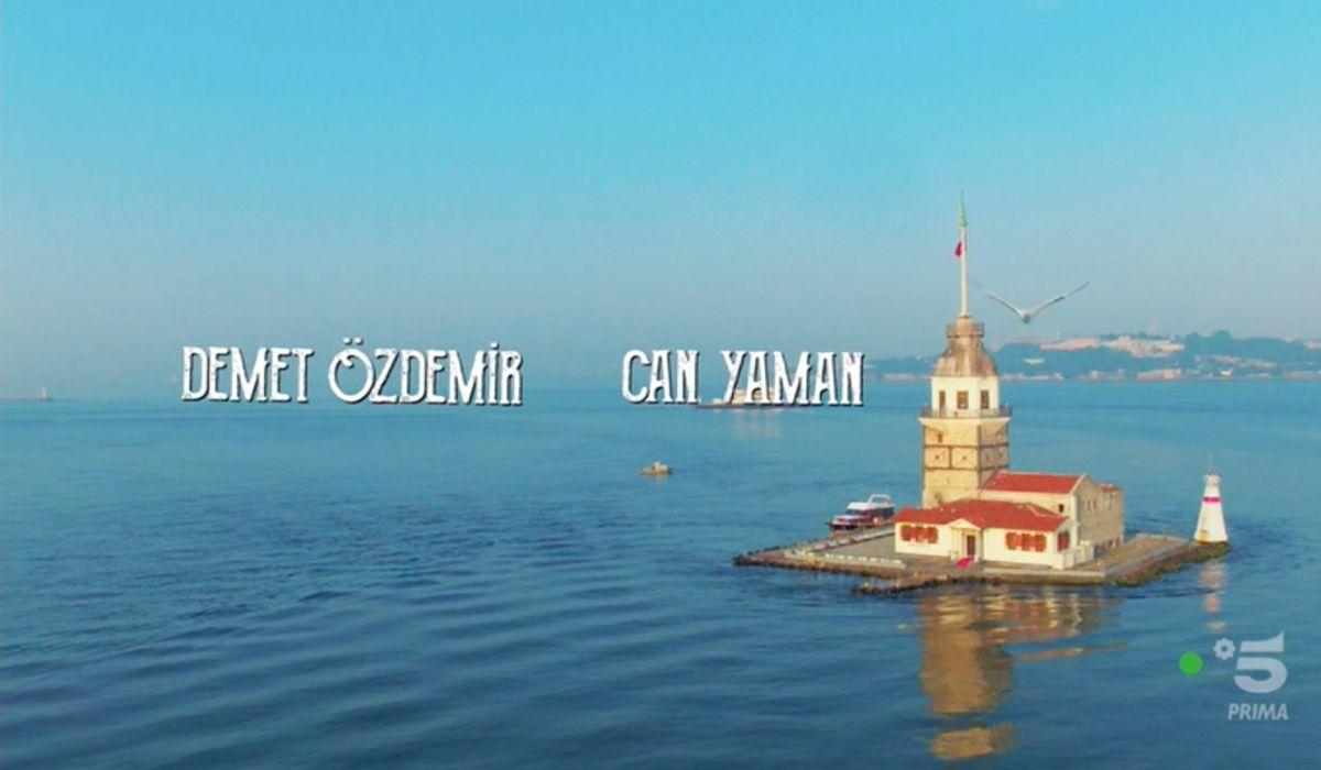 Immagine di Istanbul nella sigla di Daydreamer Credits Mediaset