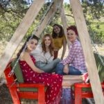 Ipek, Deren, Cilem e Azra in Come Sorelle soap turca Credits Mediaset